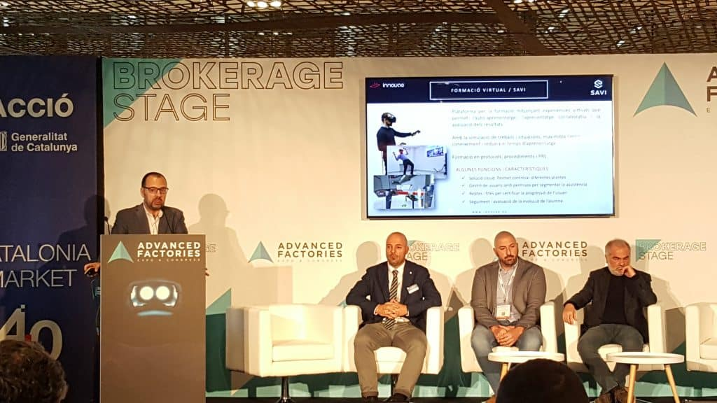 Innovae en el Advanced Factories 2020